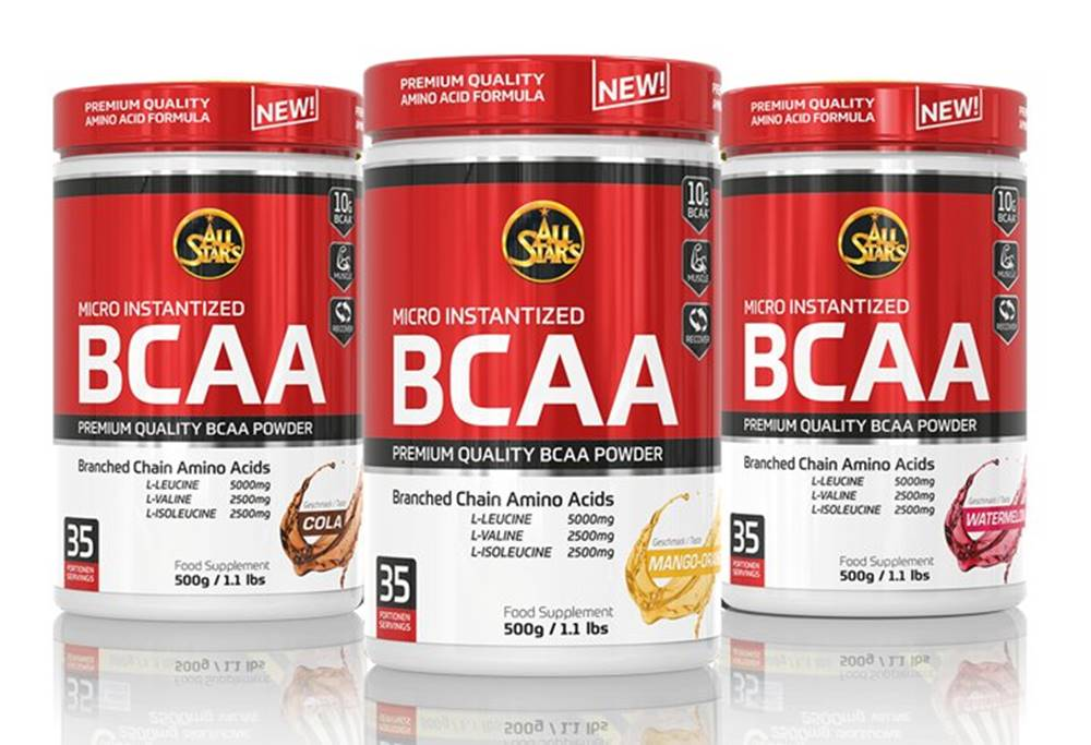 All Stars Micro Instantized BCAA - All Stars  500 g Cola