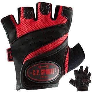 C.P. Sports Fitness rukavice červené  XS